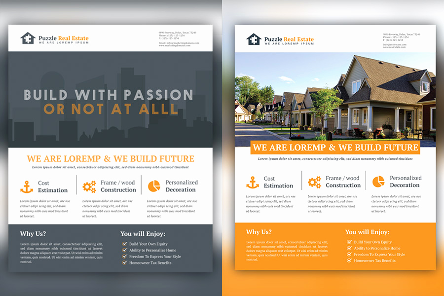 Real Estate Marketing Flyers Unique Rela Estate Marketing Flyer Tempalte