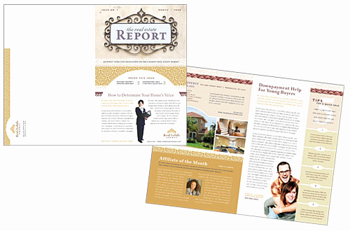 Real Estate Newsletter Templates Best Of Real Estate Newsletter Catalogs Newsletter