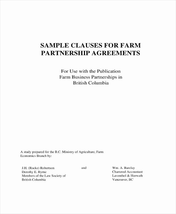 Real Estate Partnership Agreement Fresh 5 Real Estate Partnership Agreement Templates Pdf Word