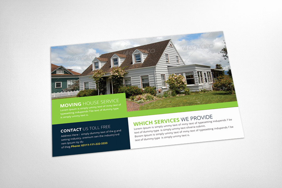 Real Estate Postcard Templates Elegant Real Estate Postcard Template Card Templates On Creative