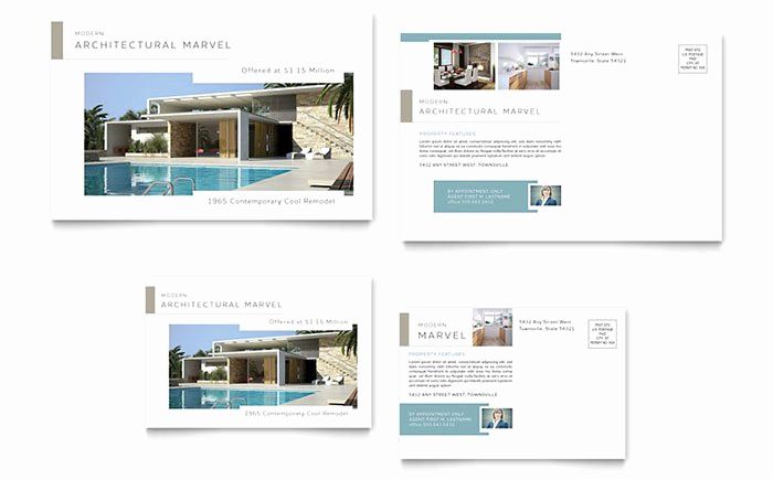 Real Estate Postcard Templates Inspirational Real Estate Marketing Postcards – Quick & Easy Templates