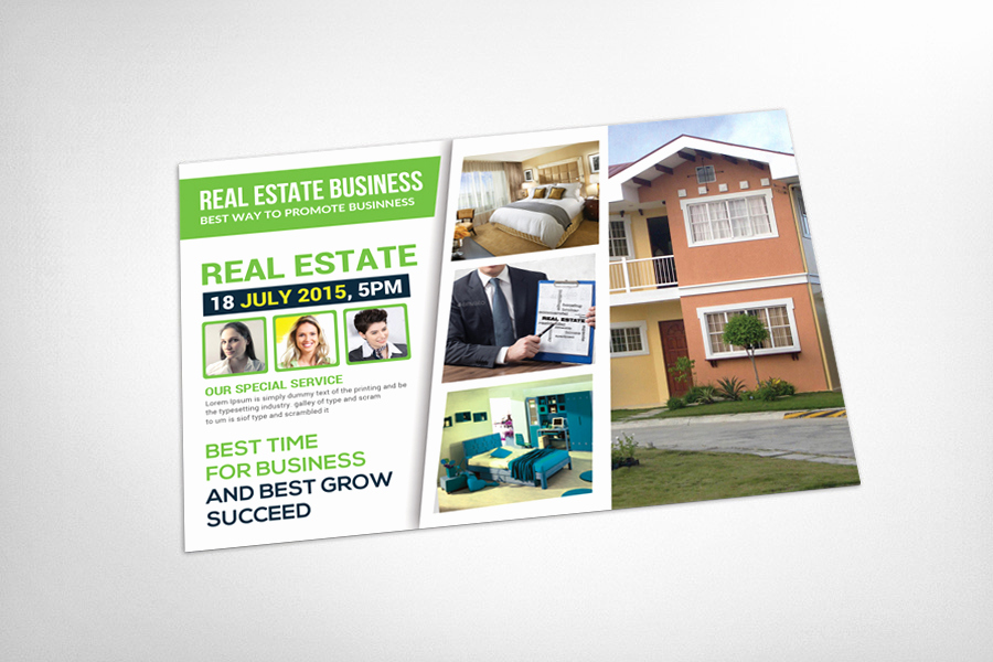Real Estate Postcard Templates Inspirational Real Estate Postcard Template Card Templates On Creative
