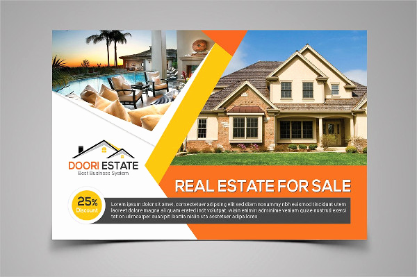 Real Estate Postcard Templates Luxury Real Estate Postcard Template 25 Psd Ai Eps format