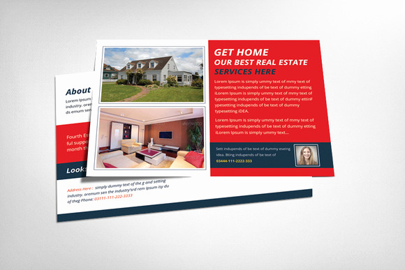 Real Estate Postcard Templates Unique Real Estate Postcard Template Flyer Templates On
