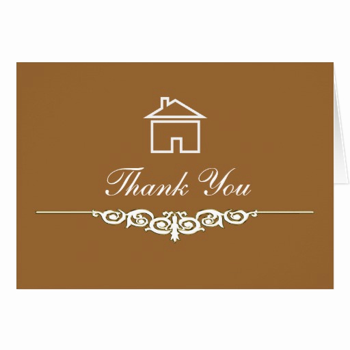Real Estate Thank You Notes Elegant Real Estate Thank You Cards