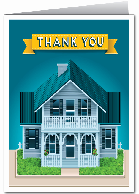 Real Estate Thank You Notes Inspirational Referral Real Estate Agent Card [ ] Ministry