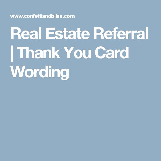 Real Estate Thank You Notes Lovely Pinterest • the World's Catalog Of Ideas