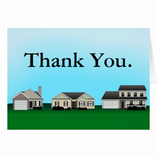 Real Estate Thank You Notes Luxury Real Estate Thank You Notes Card