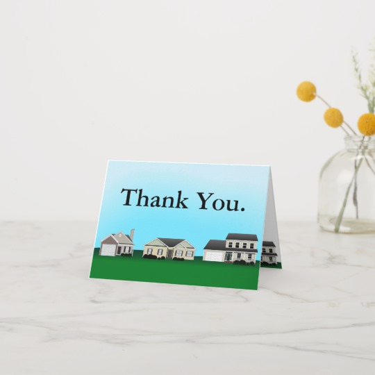 Real Estate Thank You Notes Unique Real Estate Thank You Notes