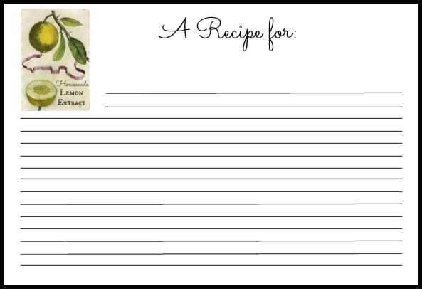 Recipe Card Templates for Word Luxury 6 Recipe Card Templates Word Excel Templates