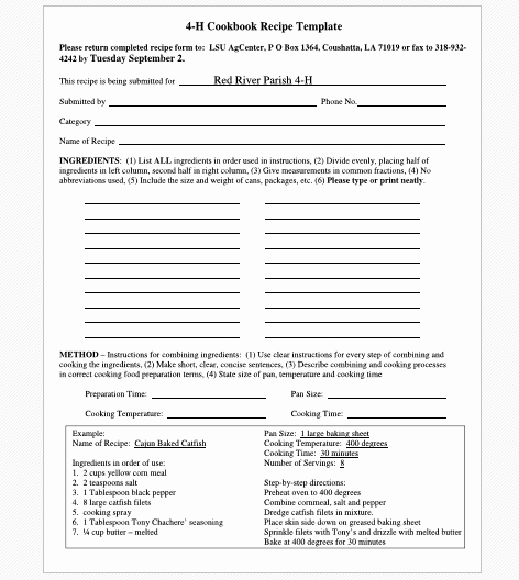 Recipe Template for Word New Cookbook Templates Create Your Own Recipe Book Word Pdf