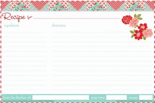 Recipe Template for Word Unique 13 Recipe Card Templates Excel Pdf formats