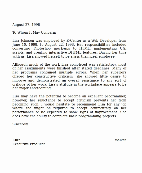Recommendation Letter for Coworker Beautiful 8 Reference Letter for Teacher Templates Free Sample