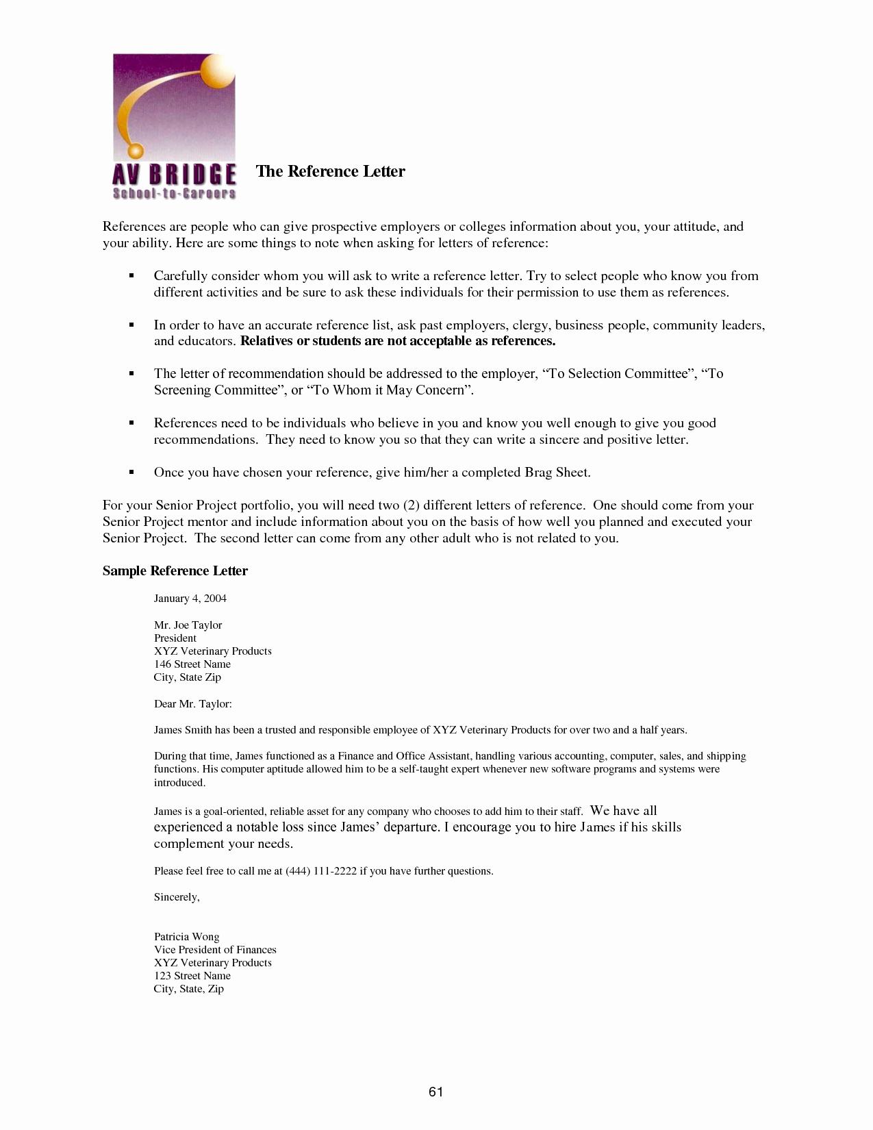 Recommendation Letter for Immigration Elegant Character Reference Letter for Immigration Template