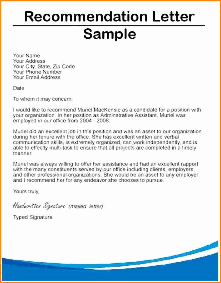 Recommendation Letter for Student Scholarship Best Of 9 Letter Of Re Mendation Scholarship From Employer