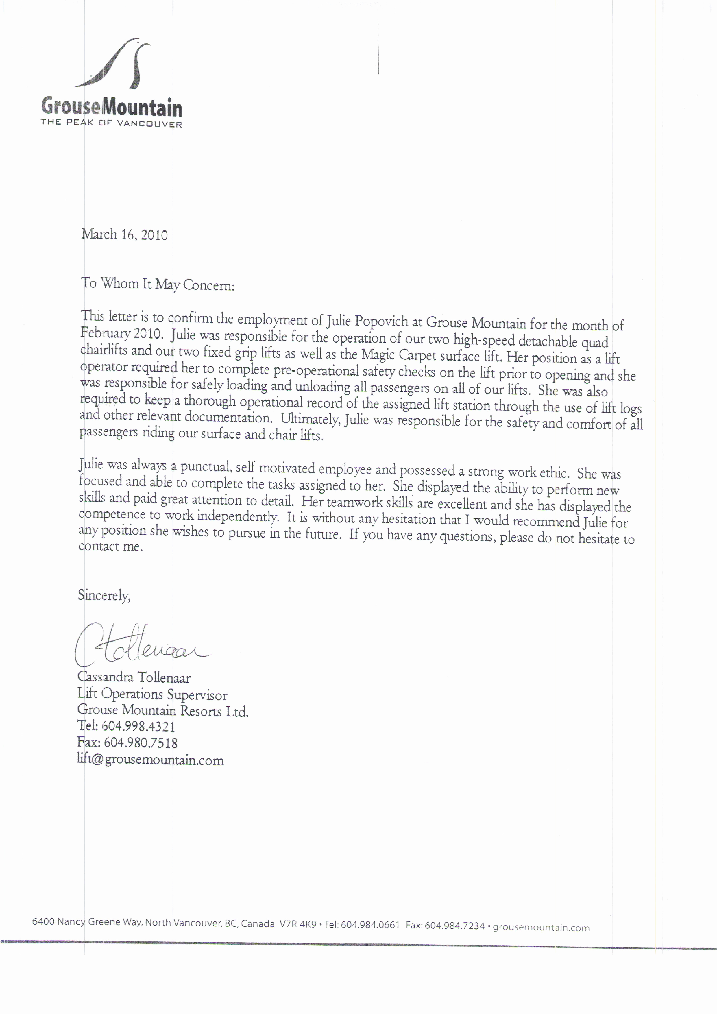 Reference Letter for Employees Awesome Letters Of Reference