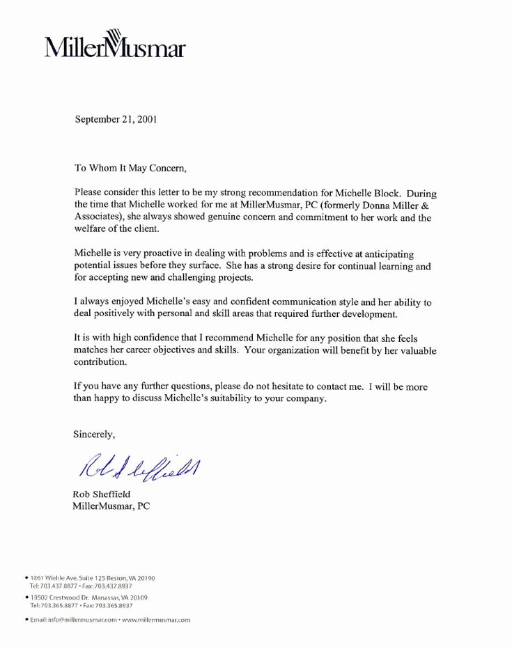 Reference Letter for Employees Lovely Best 25 Employee Re Mendation Letter Ideas On Pinterest