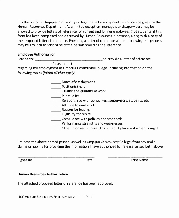 Reference Letter for Employees Luxury Sample Employee Reference Letter 5 Documents In Pdf Word