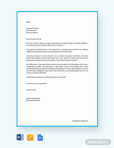 Reference Letter for Immigration Beautiful Free Character Letter for Court for Family Member Template