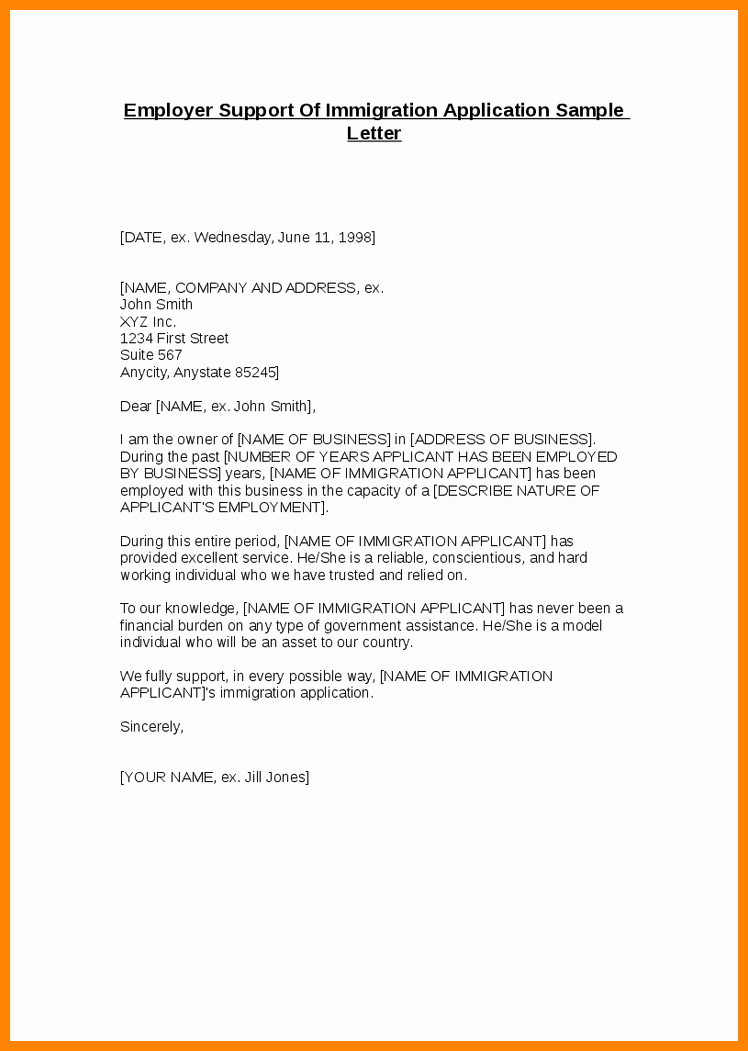 Reference Letter for Immigration Marriage Awesome 7 Letter Of Re Mendation for Immigration Marriage