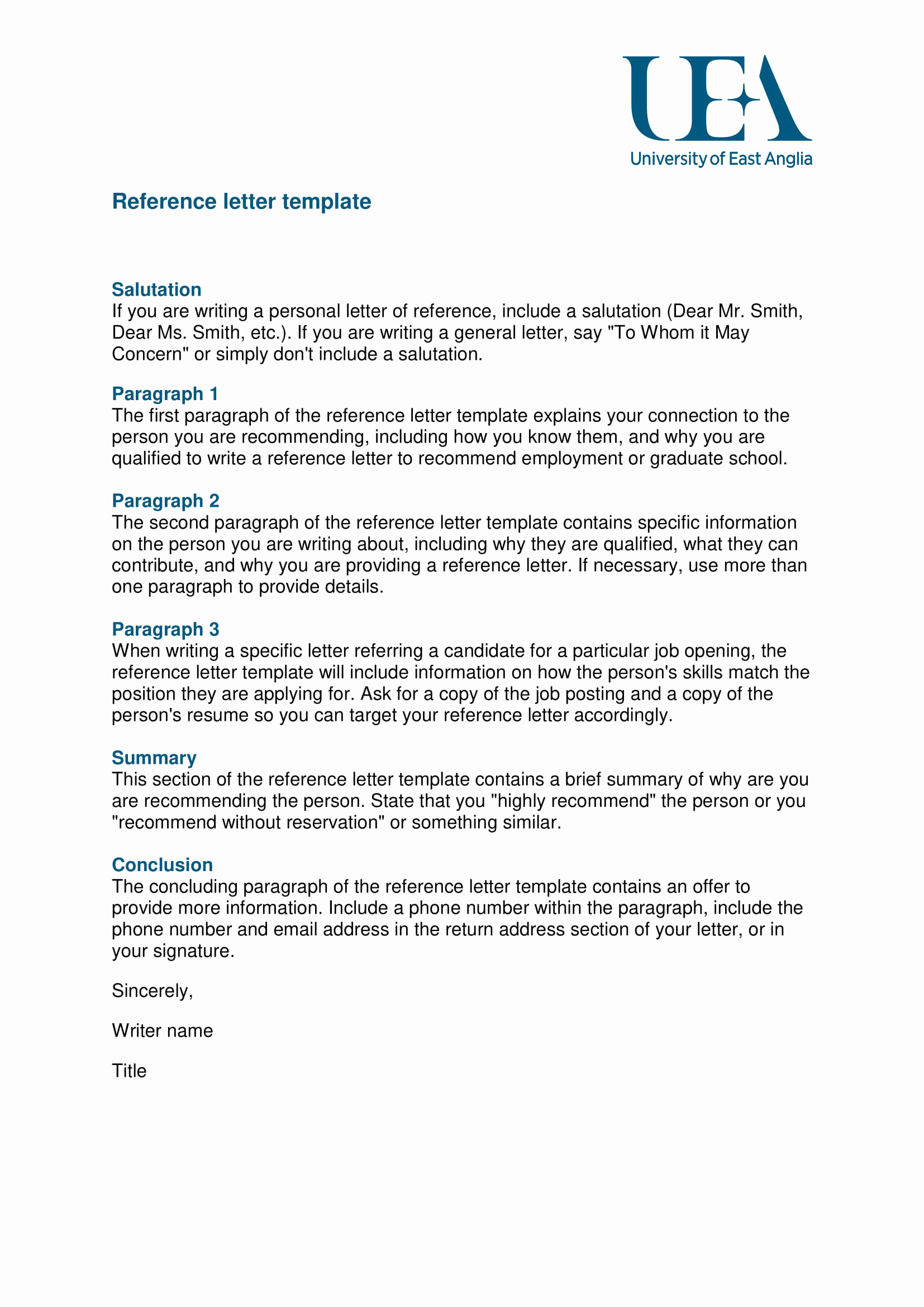 Reference Letters From Employers Fresh 9 Reference Letter From A Previous Employer Examples