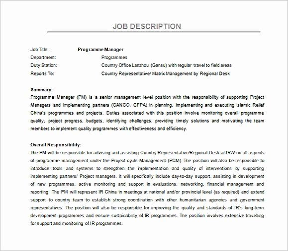 Regional Sales Manager Job Description Unique Applying for Regional Manager Resume