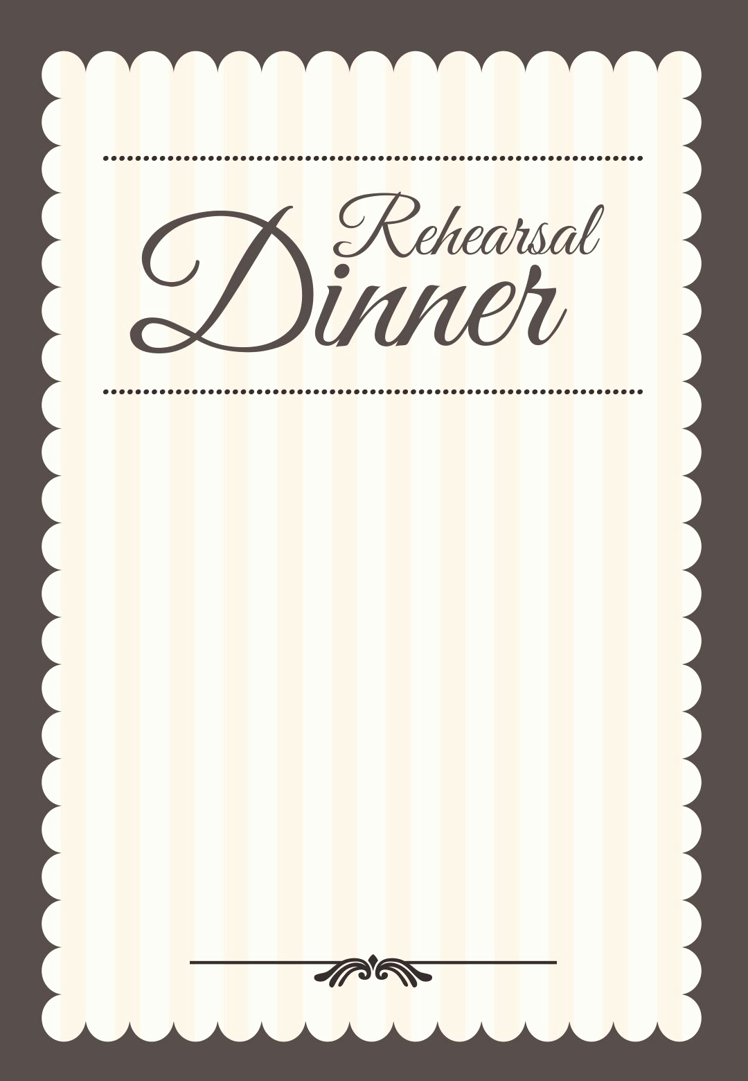 Rehearsal Dinner Invitation Template Beautiful Stamped Rehearsal Dinner Free Printable Rehearsal Dinner