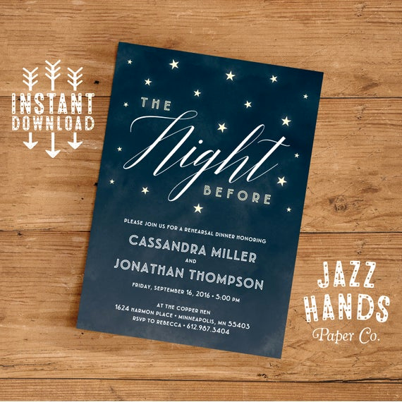 Rehearsal Dinner Invitation Template Best Of Rehearsal Dinner Invitation Template Diy Wedding Rehearsal