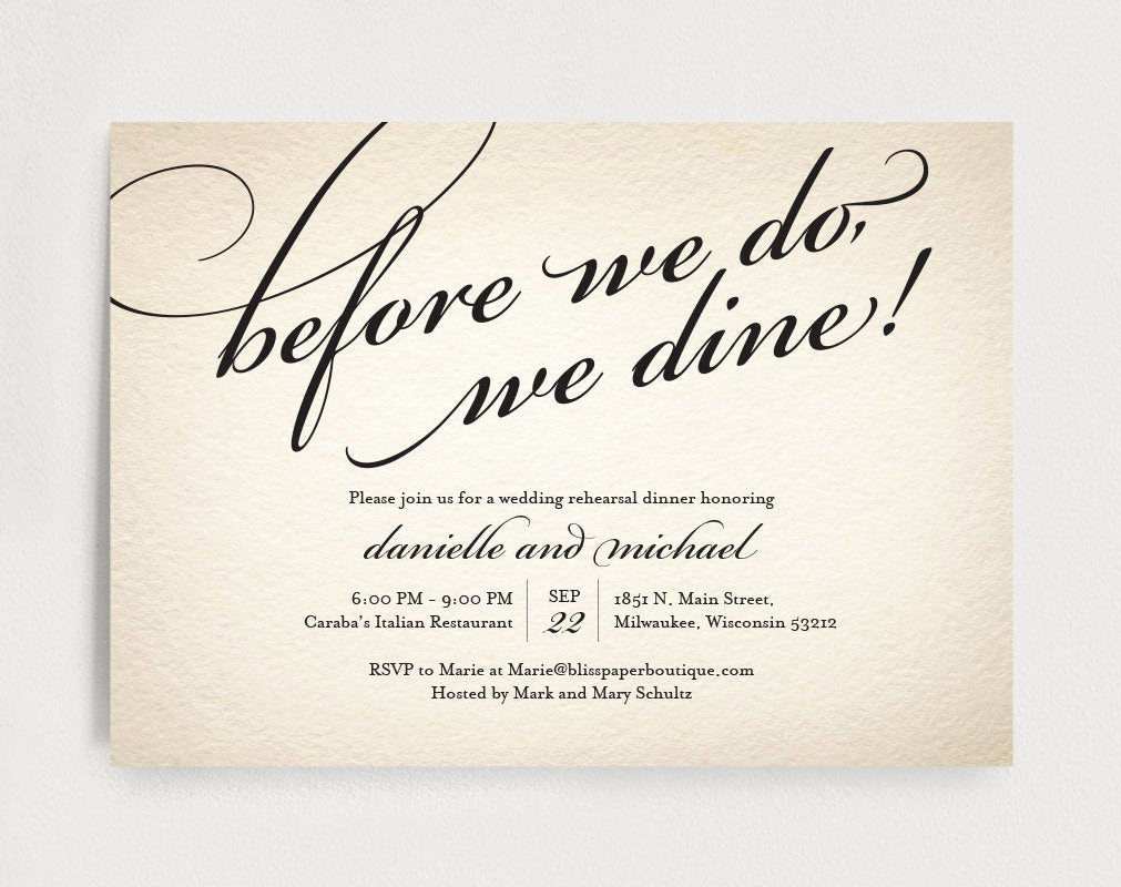 Rehearsal Dinner Invitation Template Best Of Wedding Rehearsal Dinner Invitation Editable Template before