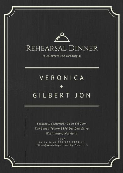 Rehearsal Dinner Invitation Template Luxury Customize 411 Rehearsal Dinner Invitation Templates
