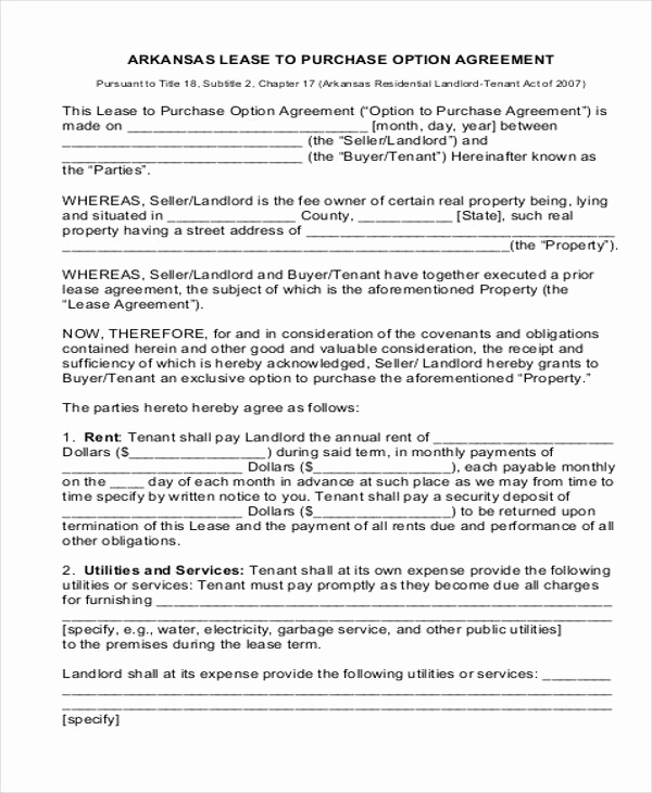 Rent to Own Agreement Template Luxury Rent to Own House Contract 6 Examples In Word Pdf