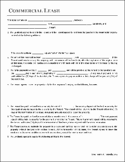 Rental Agreement Template Free Fresh Free Lease Agreement Template