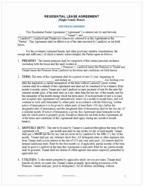 Rental Agreement Template Free Luxury Rental Agreement Template Free top form Templates
