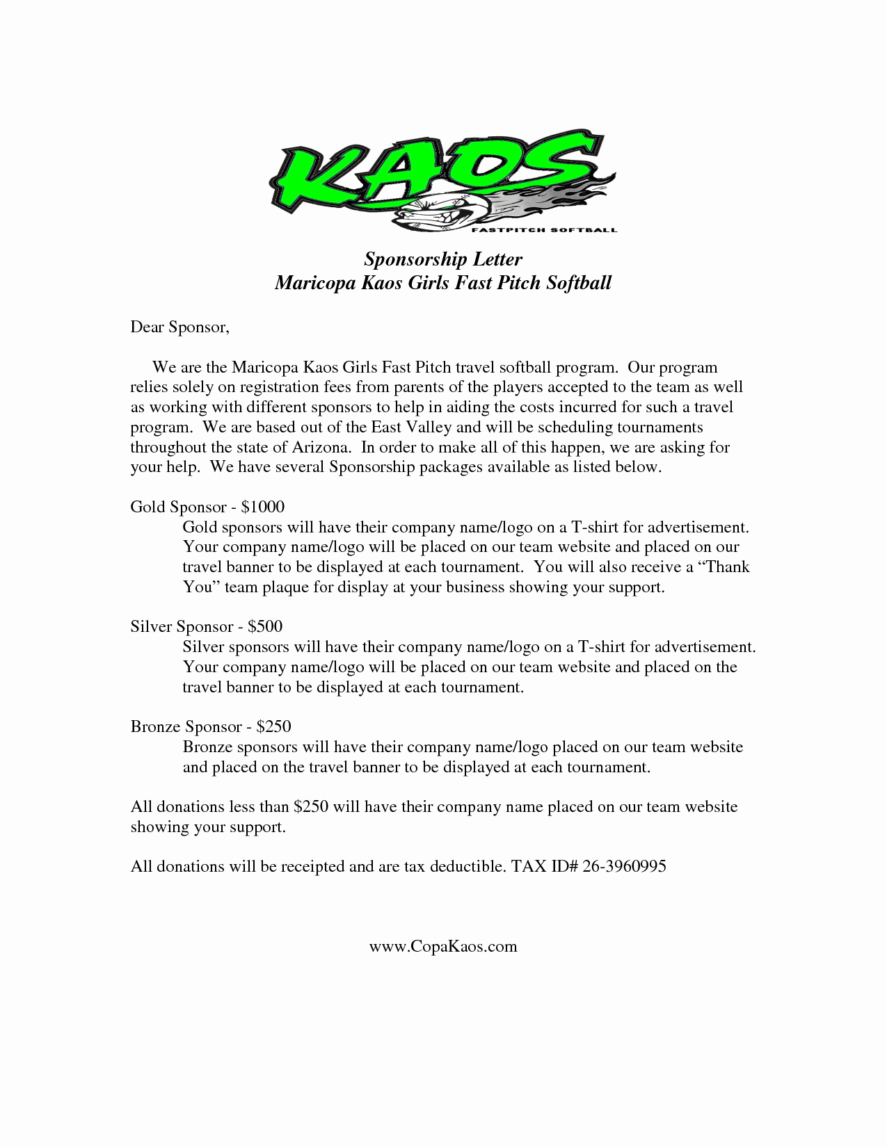 Request for Donations Letter Fresh Donation Letter Template for Sports Sample