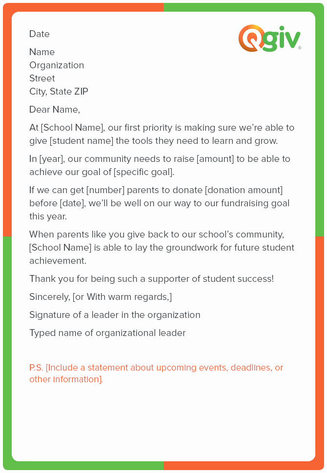 Request for Donations Letter New 9 Awesome and Effective Fundraising Letter Templates