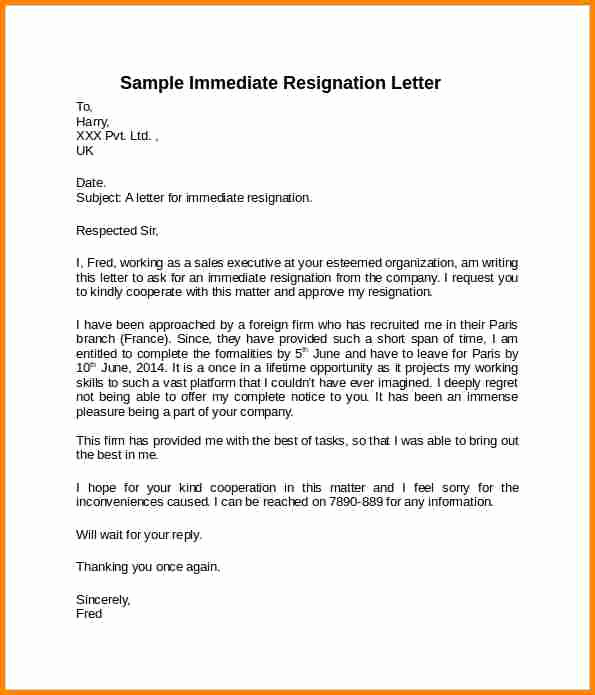 Resign Letter Short Notice Beautiful 8 Resignation Letter Samples Short Notice