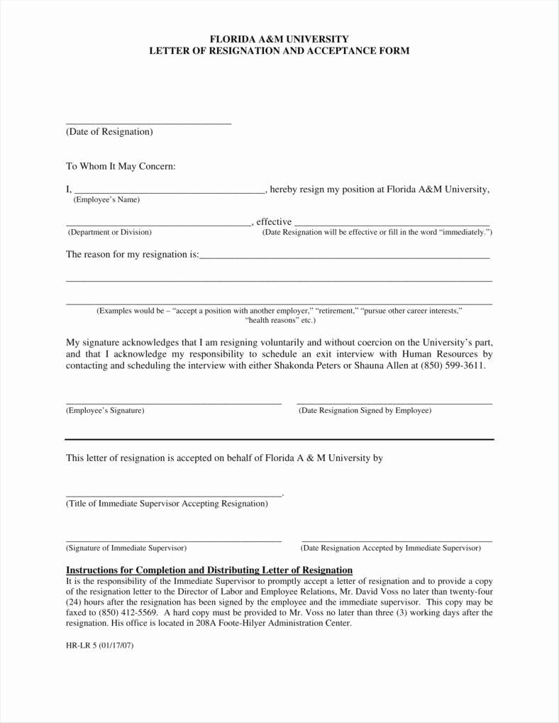Resignation Letter Template Free Elegant 33 Simple Resign Letter Templates Free Word Pdf Excel