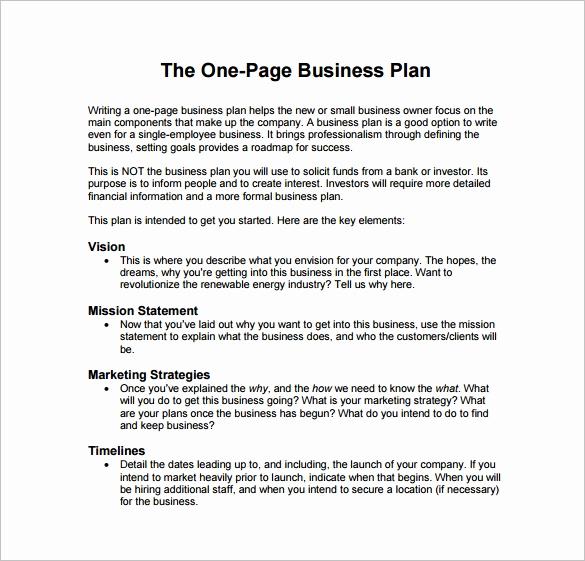 Restaurant Business Plan Sample Inspirational 29 Business Plan Templates Sample Word Google Docs