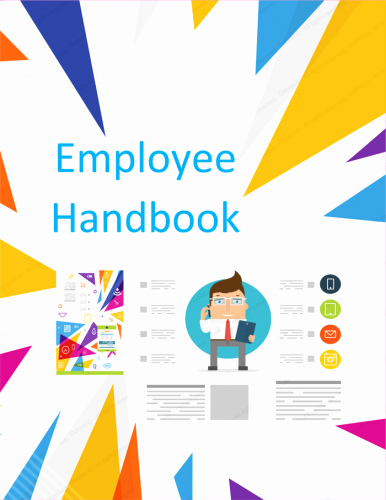 Restaurant Employee Hand Book New Employee Handbook Template Free Printable Sample