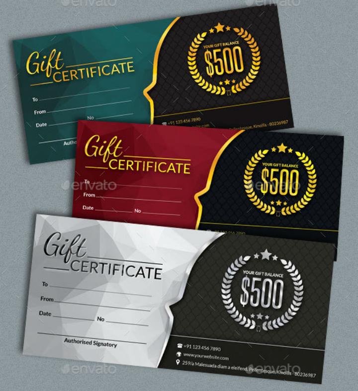 Restaurant Gift Certificate Template New 14 Restaurant Gift Certificates