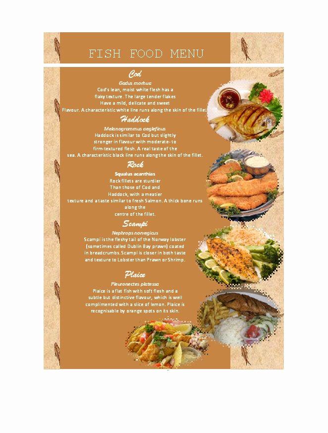 Restaurant Menu Template Free Best Of 31 Free Restaurant Menu Templates & Designs Free