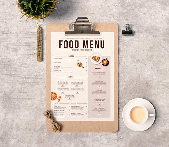 Restaurant Menu Template Free Fresh 50 Free Food & Restaurant Menu Templates Xdesigns