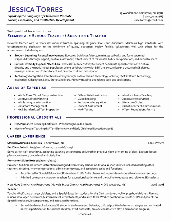 Resume Template for Teaching Beautiful 1000 Ideas About Teacher Resume Template On Pinterest