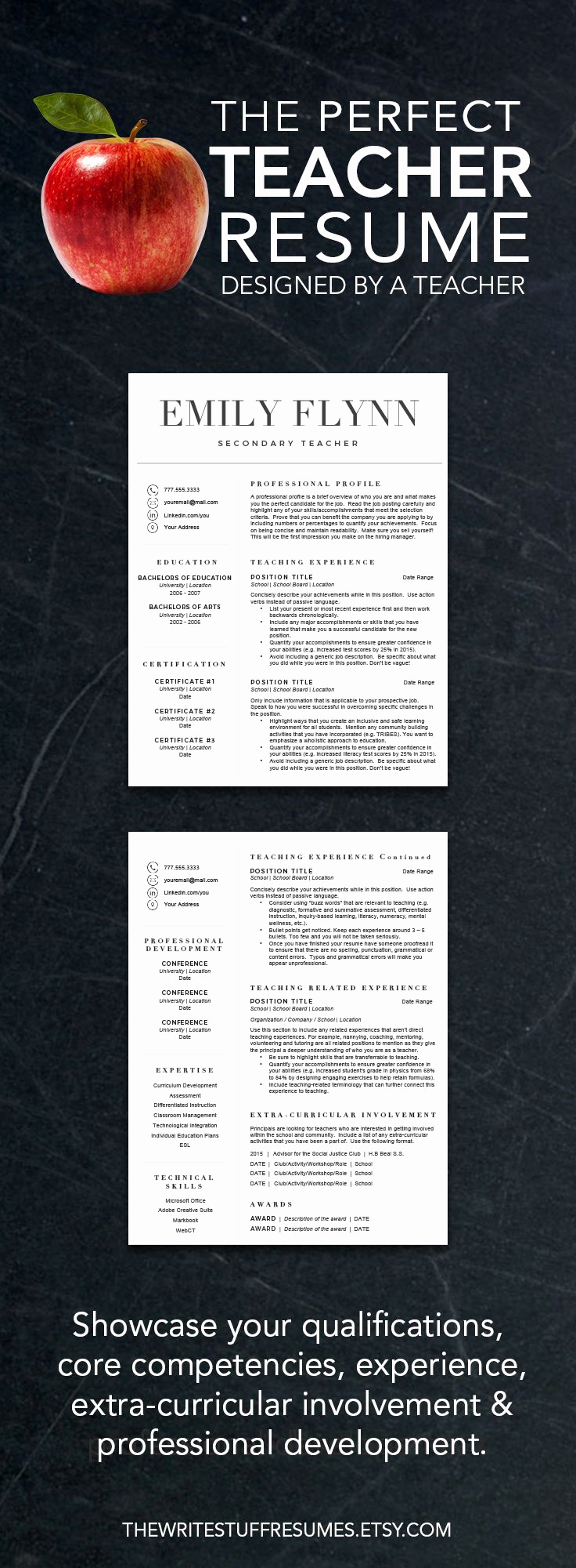 Resume Template for Teaching Best Of Best 25 Teacher Resume Template Ideas On Pinterest