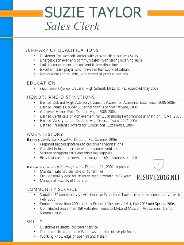 Resume Template for Teens Awesome 10 Resume Taglines