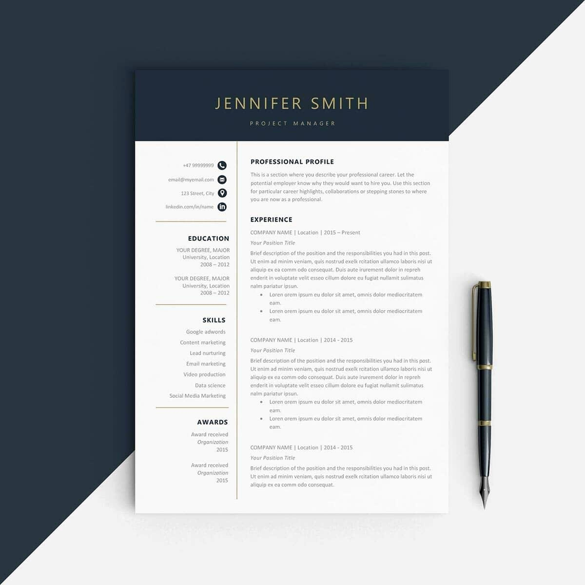 Resume Template with Photo Elegant Best Resume Templates 15 Examples to Download & Use Right