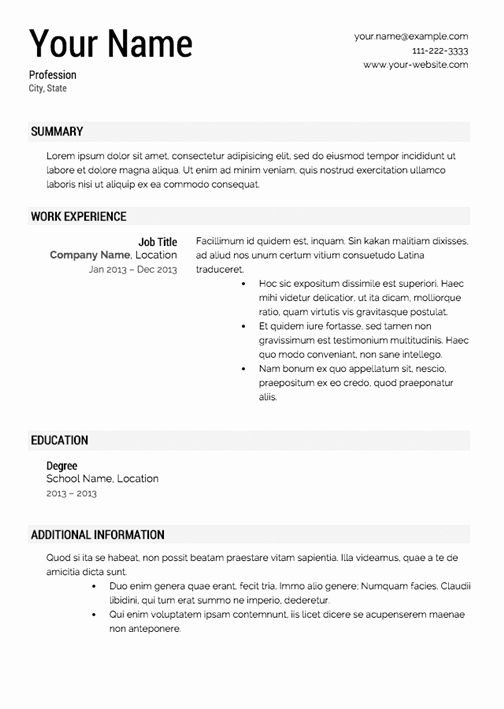 Resume Template with Photo Elegant How to Make Your Resume Look Good