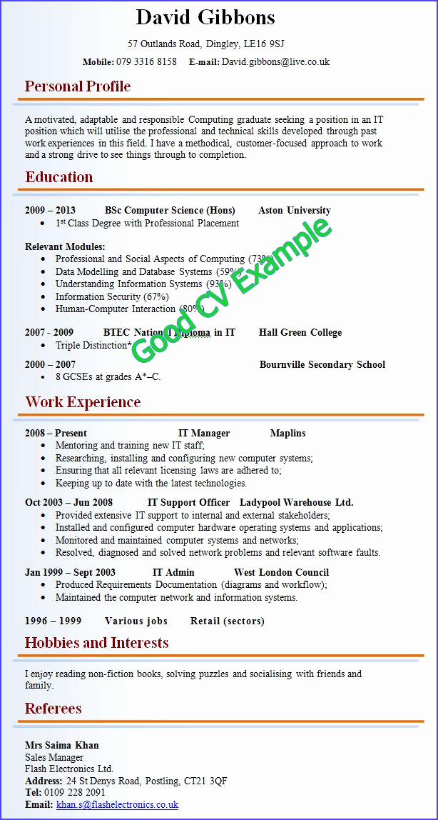 Resume Template with Photo Inspirational Cv Resume Template Google Search Resume