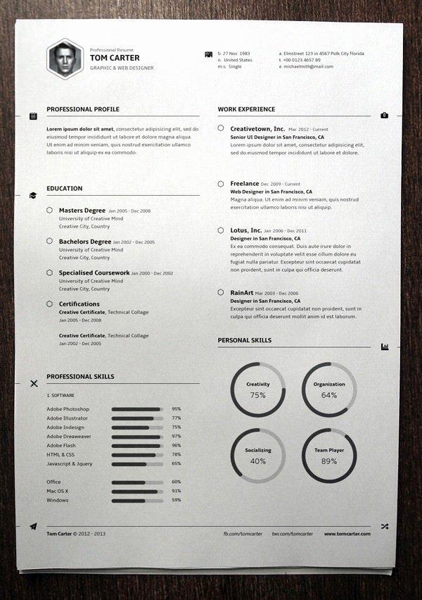 Resume Templates for Mac Elegant 18 Mac Resume Template Free Download