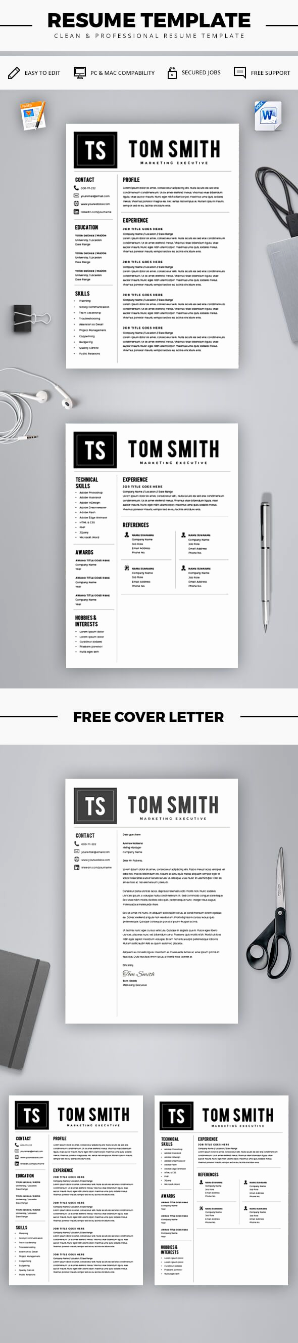 Resume Templates for Mac Unique 25 Best Ideas About Resume Template Free On Pinterest